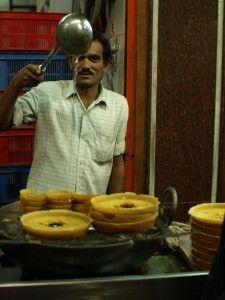 Ghevar- Bikaner in Rajasthan, India Street, India People, Indian Street Food, Amritsar, Street Culture, New Delhi, Varanasi, Chandigarh, Agra