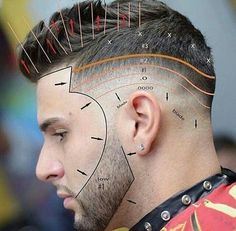How to fade and cut hair and beard. a detailed instruction of how to correctly fade a beard and hair cut. Hair And Beard Styles, Short Hair Styles, Short Hair And Beard, Barbers Cut, Crew Cuts, Boy Hairstyles, Braided Hairstyles, Wedding Hairstyles, Medium Hairstyles