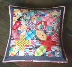 my pillow talk swap pillow...japanese x and +