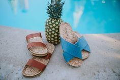 Your go-to slides for the Summer season 🐻🐾 Shop Pinatex Sandals: bearpaw.com/ #LiveLifeComfortably #BearpawStyle