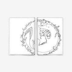 Обложка для паспорта «Лесная лисица  »