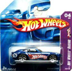 Datsun 240Z Hot Wheels 2007 #060/156 Hot Wheels Racing #04/04 Short Card