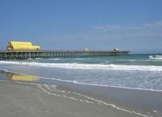 These 9 Epic Piers In South Carolina Will Make Your Summer Unforgettable Myrtle Beach Attractions, Stuff To Do, Things To Do, Golf Outing, Folly Beach, Day And Time, Daytona Beach, South Carolina, Florida