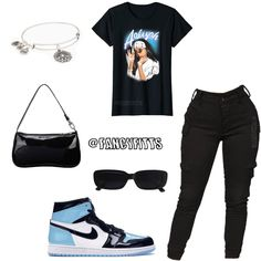 Cute Couple Outfits, Baddie Outfits Casual, Swag Outfits For Girls, Teenage Girl Outfits, Cute Swag Outfits, Chill Outfits, Cute Comfy Outfits, Kpop Fashion Outfits, Teenager Outfits