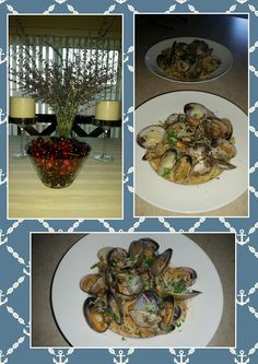 Linguine con le Vongole because we had a craving for Italian. Hubby loved it❤