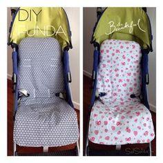 Patrón de funda silla Maclaren. Mantendremos siempre en perfecto estado la silla, son reversibles y conseguiremos una silla personalizada a nuestro gusto. Pram Liners, Baby Sewing, Couture, Baby Patterns, Kids And Parenting, Baby Names, Baby Food Recipes, Diy For Kids, Accessories