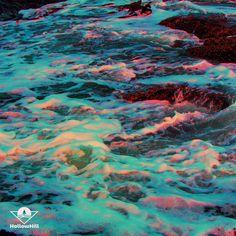 #aesthetic #waves #nature #photography #photoshop #vaporwave #alien Vaporwave, Nature Photography, Waves, Photoshop, Content, Abstract, Illustration, Artwork, Summary