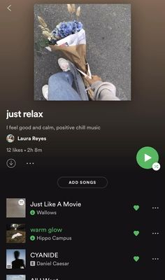 take a chill pill and be happy #spotify #music #playlist Most Relaxing Song, Relaxing Music, Music Mood, Mood Songs, Meditation Songs, Playlists, Playlist Names Ideas, Song Recommendations, Good Vibe Songs
