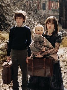 Klaus, Sunny, and Violet Baudelaire from A Series of Unfortunate Events ~Stormi