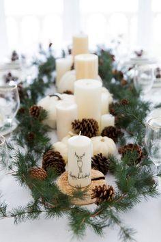 Winter Tablescape -