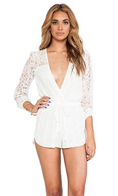 Style Stalker On The Road Romper in White | REVOLVE