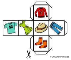 Obrázková kostka pro výuku jazyků. Další najdete na www.obrazkyvevyuce.cz / A picture cube for language teaching. You can find more at www.obrazkyvevyuce.cz. Logos, Logo