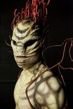 Dangerous Animal & Plant Challenge - Rayce : Face Off Face Off Makeup, Sfx Makeup, Costume Makeup, Special Makeup, Special Effects Makeup, Creature Feature, Creature Design, Face Off Syfy, Prosthetic Makeup