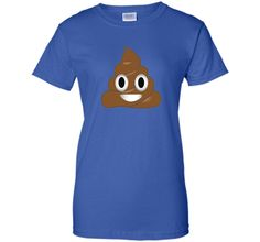 Emoji Poop Shirt ~ Novelty Funny t-shirt for Men Women Kids shirt