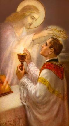 """One single Mass gives more honor to God than all the penances of the Saints, the labors of the Apostles, the sufferings of the martyrs, and even the burning love of the Blessed Mother of God."" ✝ (#StAlphonsusLiguori)  #Catholic #MyCatholicFaith #HolyMass"