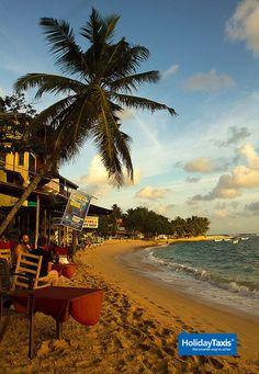 Unawatuna Beach, Sri Lanka