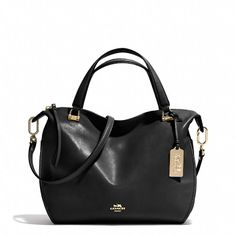 Coach  MADISON SMYTHE SATCHEL IN LEATHER