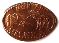 Elongated Penny Coin - LAST BEST PLACE - St. Regis Travel Center - MONTANA