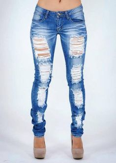 I want to be able to wear skinny jeans like these and feel sexy again...