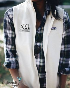 what is better than a customized patagonia? | Chi Omega | Made by University Tees | universitytees.com