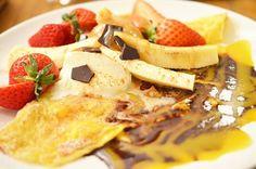 乙女チックな代官山のカフェで話題の「クレープ食べ放題」を注文してみた+/+甘~いイチゴの絶品クレープをおなかいっぱい食べられるよぉ~!!!