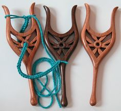 A Lucet (also called a lucet fork) is an ancient tool dating back to the Viking era. It is used for making a looped cord that is strong, square, and a bit springy. Lucet cord can be used for draw-string (such as for bags or purses), decorative edging, ties for hats, and any other use where strong cord is needed.