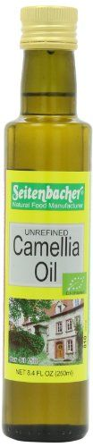 Seitenbacher Organic Oil, Camellia, 8.4-Ounce Bottles (Pack of 2) - http://goodvibeorganics.com/seitenbacher-organic-oil-camellia-8-4-ounce-bottles-pack-of-2/