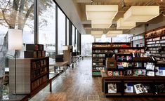 The new store is an enticing showcase of Tsutaya's art, design, fashion and travel books