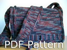 Crochet Messenger Bag Pattern – Crochet For Beginners