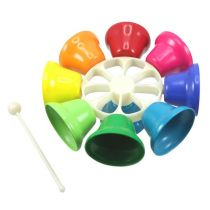 Musical Instrument - Spinning Rainbow Bells #EntropyWishList #PinToWin So far a noisy house means a happy baby :)