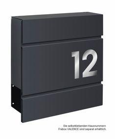 Frabox Design Briefkasten LENS Anthrazitgrau von frabox - online kaufen in unserem Shop