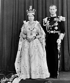 Queen Elizabeth II and her husband the Duke of Edinburgh at Buckingham Palace (PA)