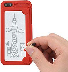 背面にメモや絵を書けるiPhone 5用ハードケース「memotty(メモッティー)」   [In store now]#iPhone