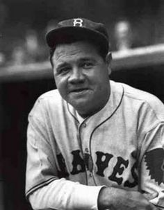 Babe Ruth With Boston Braves
