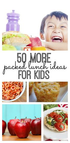 50 More Great Packed Lunch Ideas for Kids - http://mylifeandkids.com/50-more-great-packed-lunch-ideas-for-kids/