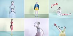 colorful and strange pictures by Bara Prasilova for Hasselblad Masters Book