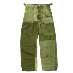 Needles / Rebuild by Needles / Fatigue Shirt → Pant / Olive / XS / 1 | STARLING online store