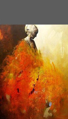 Född i Warszawa, Polen. Bosatt i Stockholm sedan 1976. När Danka var 14 år antogshon till ett av Polens särskilda konstgymnasier där hon fick hela den klassiska utbildningen; måleri, foto, skulptur, illustration; kort sagt allt. Det var en utmärkt förberedelse till de följande studierna 1970-73 på Konstakademien i Warszawa. Danka … Abstract Art For Kids, Abstract Canvas Art, African Paintings, Expressive Art, Impressionist Art, People Art, Figure Painting, Figurative Art, Collage