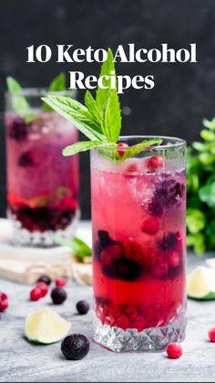 Vegan Keto Diet Plan, Ketogenic Diet Food List, Ketogenic Recipes, Low Carb Recipes, Diet Recipes, Keto Meal, Recipes Dinner, Vodka Recipes, Recipes