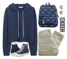 """""""Hoodie"""" by elly3 ❤ liked on Polyvore featuring Forever 21, MANGO, Nudie Jeans Co., Converse, Chloé, women's clothing, women's fashion, women, female and woman"""