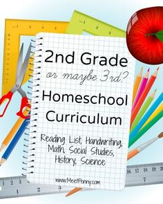 Homeschool curriculum suggestions for confused moms. LOL. The joy of homeschooling. Is your child in the 2nd or 3rd grade?