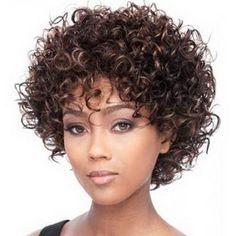 cabelo cacheado curto imagem - Pesquisa Google