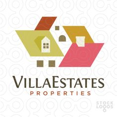 wihtout the background, this is awesome....Village Estate Properties real estate logo | StockLogos.com