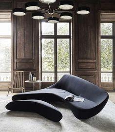 Sofa Moon System B & B Italia - Design von Zaha Hadid - sofa - Sofas Sofa Design, Design Furniture, Sofa Furniture, Luxury Furniture, Wooden Furniture, Zaha Hadid Architektur, Arquitetos Zaha Hadid, Zaha Hadid Design, Zaha Hadid Interior