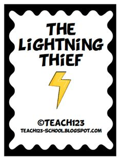 Test taking tip and free The Lightning Thief packet.