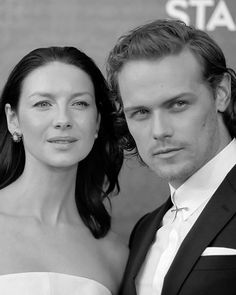 Sam Heughan and Catriona Balfe | Outlander Season 2 Premiere | New York April 4, 2016