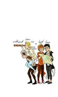 <~_without you i'm a lost boy._~> 5 Seconds of Summer - Lost Boy Calum Hood, Michael Clifford, Luke Hemmings, 5 Seconds Of Summer, 5sos Fan Art, One Direction Drawings, 5sos Funny, 5sos Wallpaper, Punk Baby