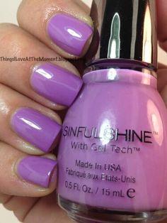 Gorgeous purple