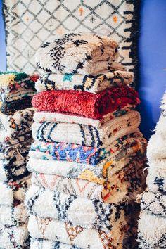 Tendance tapis Beni Ouarain - La boutiqu Kechmara à Sacramento
