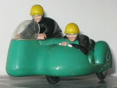A small British kneeler toy sidecar